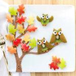 arbre i mussols de fruita al plat de tardor