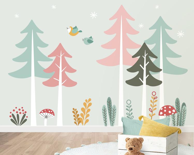 Dolce Vinilo, parets decorades per a l'habitació dels nens
