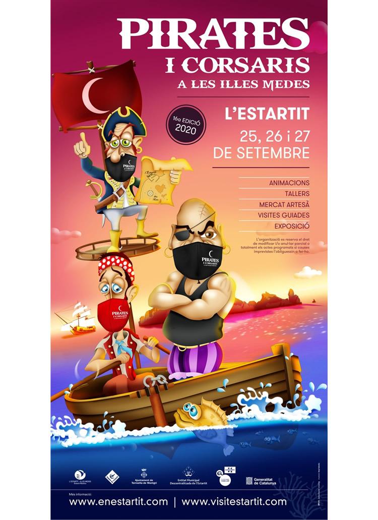 pirates i corsaris a les illes medes 2020