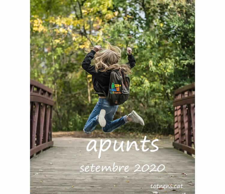 Apunts 01 - Revista totnens d'activitats en família