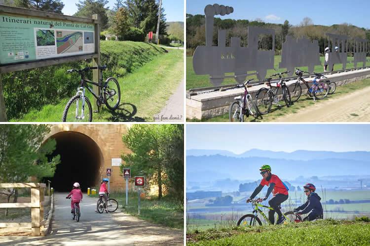rutes en bicicleta per a nens