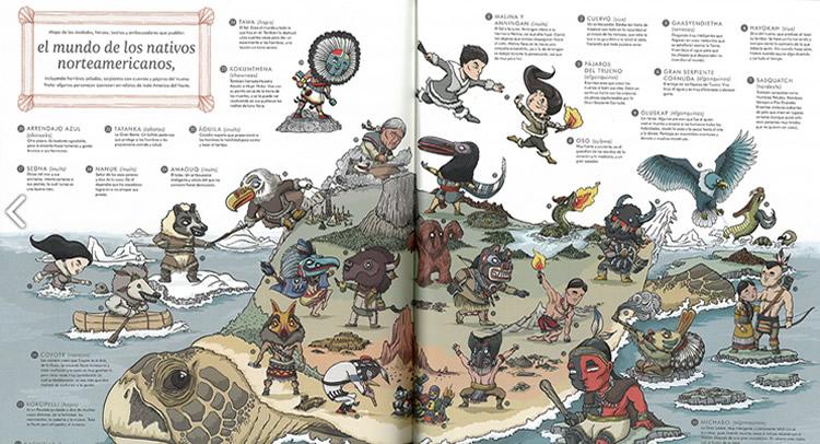 Atlas de Mitos – HarperKids