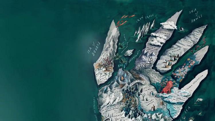 Atlas de las islas imagionarias – El zorro rojo