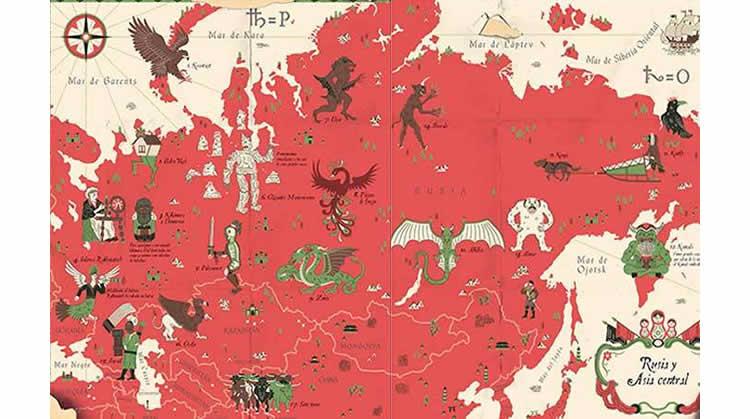 Atlas de los Monstruos: Criaturas míticas del mundo – GeoPlaneta