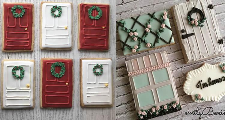 Galetes de portes de gingebre per al Pare Noel