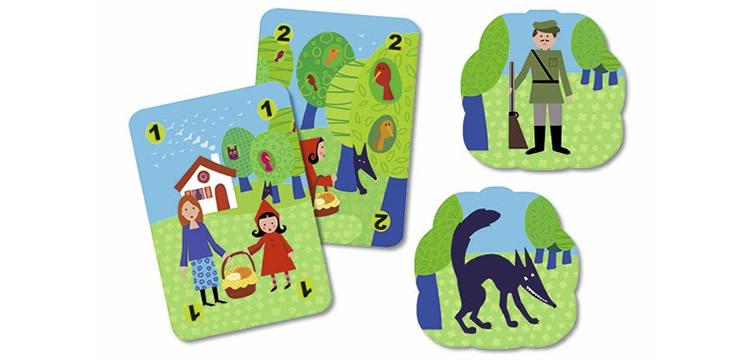 Joc de cartes Méchanlou - Djeco