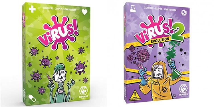 Joc de cartes Virus - Tranjis
