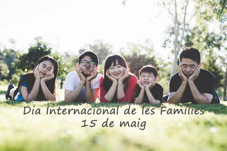 dia internacional de les families - 15 de maig
