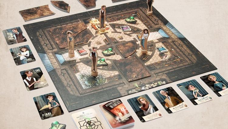 joc coperatiu la biblioteca misteriosa