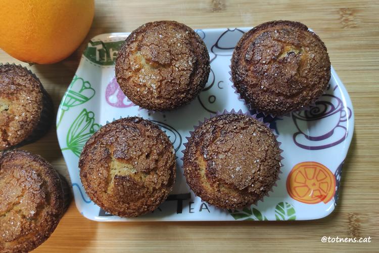 magdalenes de taronja torradetes