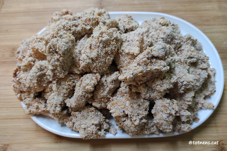 Nuggets de pollastre arrebossats