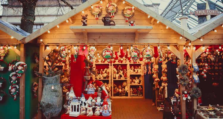 quan posar la decoracio de Nadal visitar una fira