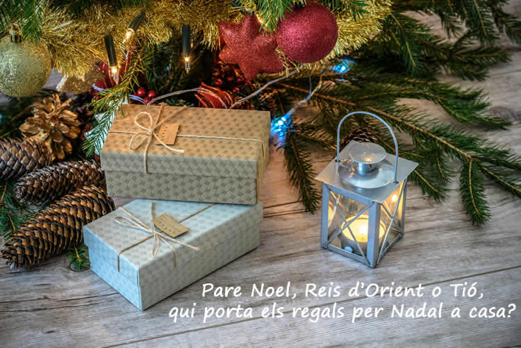 qui porta els regals per Nadal Reis d'Orient