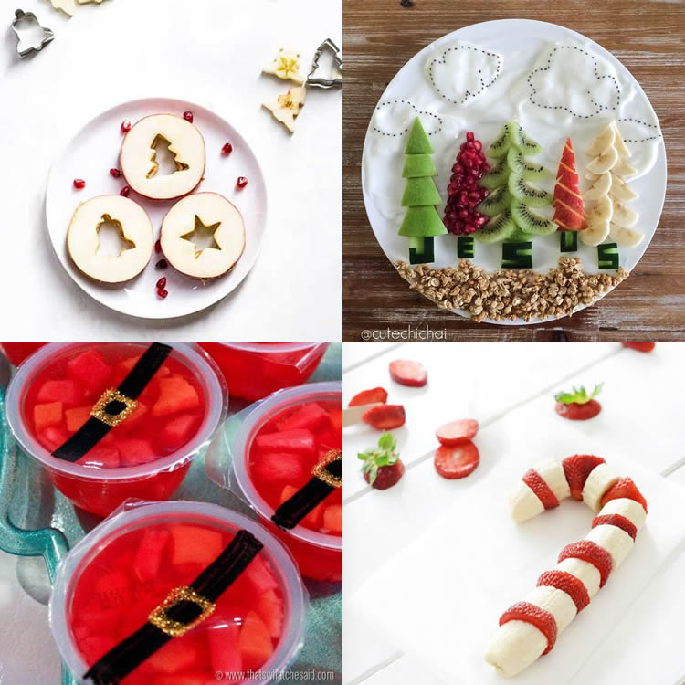 receptes de fruita per Nadal