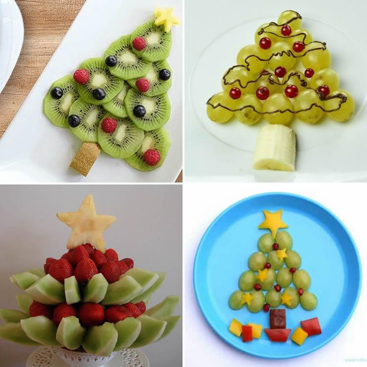 avets de fruita per Nadal mini arbres