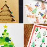 12 postals de Nadal d'avets