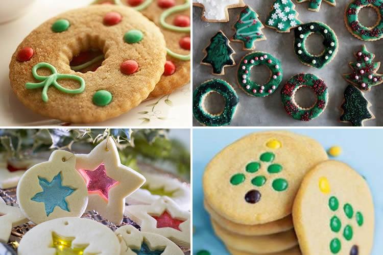 Galetes de Nadal per decorar amb nens facils