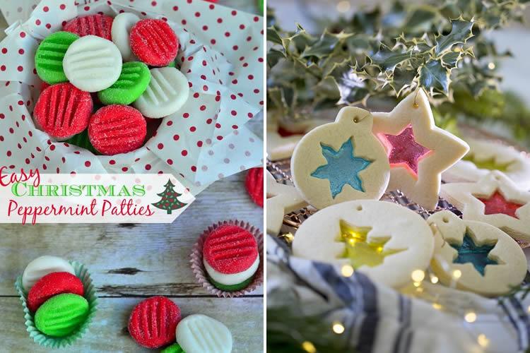 Galetes de Nadal per decorar amb nens vitralls