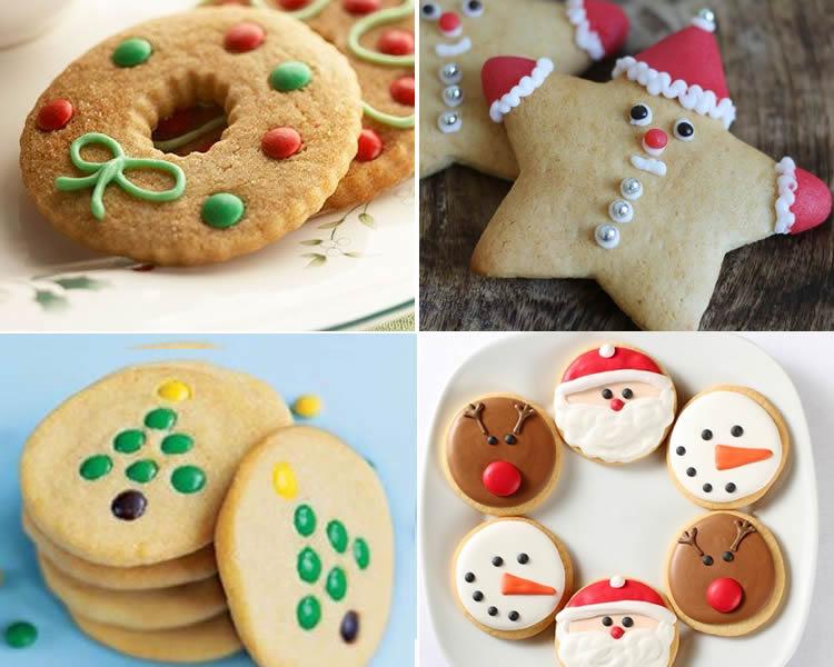 Galetes de Nadal per decorar amb nens per als mes petits