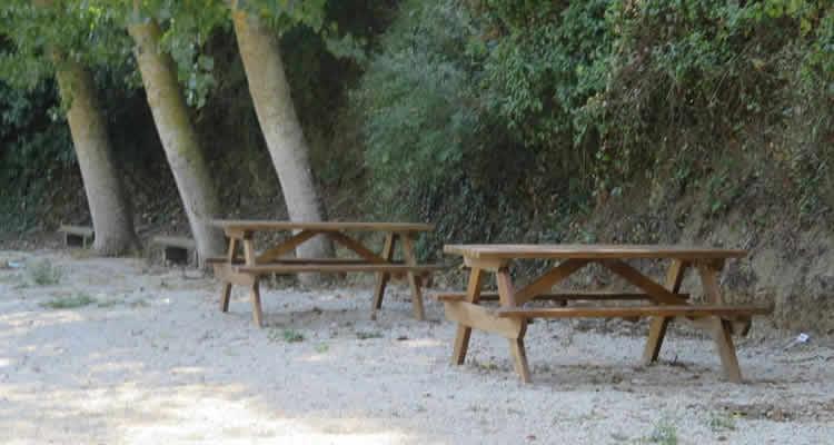 cami del rec selva del camp taules pícnic