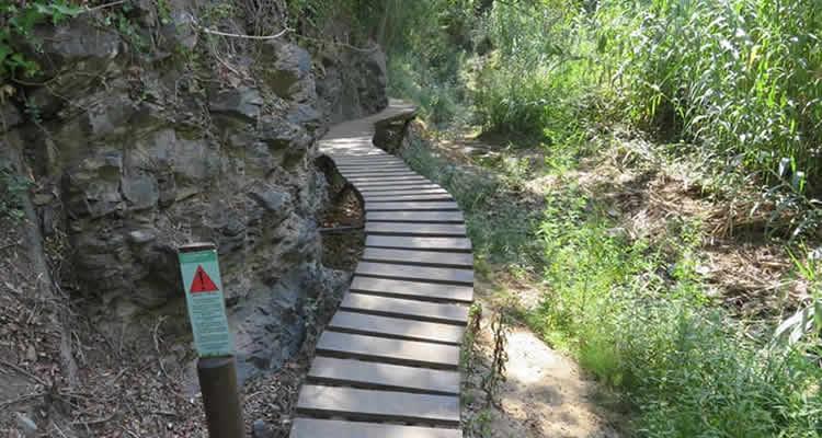 cami del rec selva del camp passareles