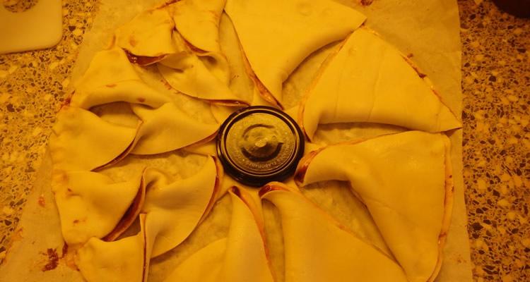 estrella de pasta de full amb xopcolata 01