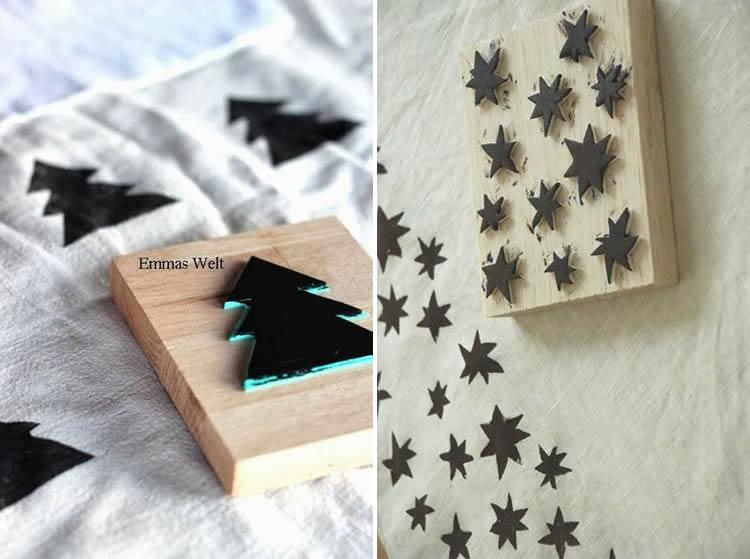 segells de nadal amb goma eva