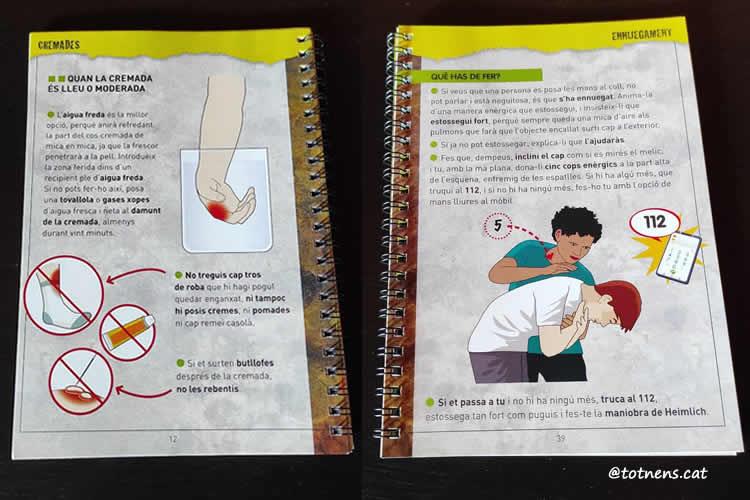 guia primers auxilis per a nens i joves