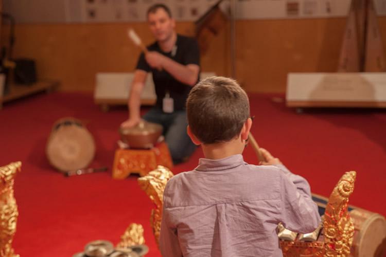Activitats familiars al Museu de la Musica