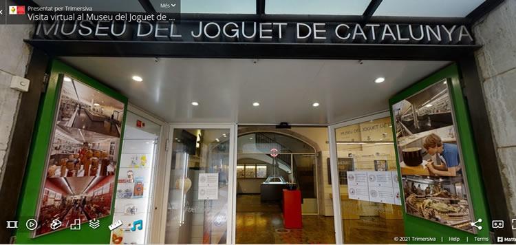 museu del joguet de catalunya visita virtual