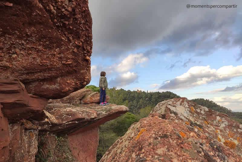 Roca del Barret a Begues