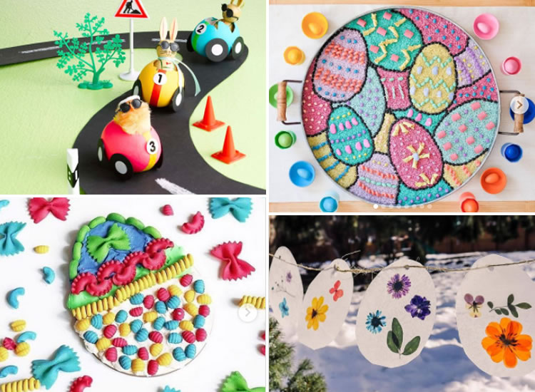 12 ous de Pasqua ben artístics