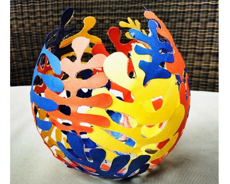Ou de Pasqua a l'estil Matisse