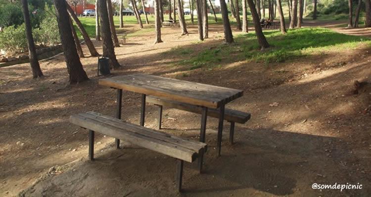 Parc Forestal de Mas Ratés picnic