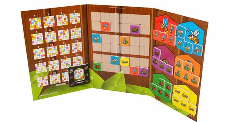 Sudoku magnètic bestioles de Miniland