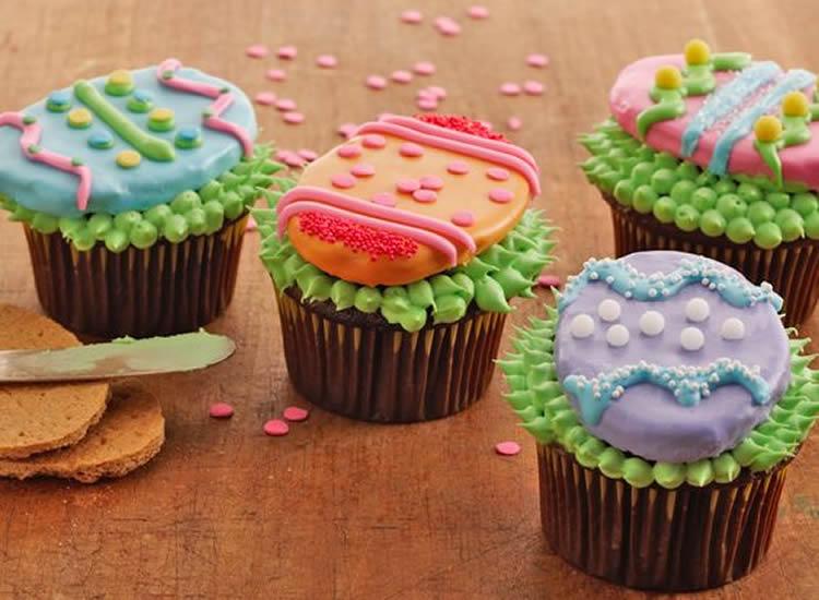cupcakes amb ous de Pasqua