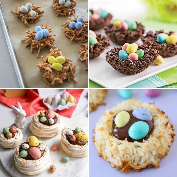 Nius de Pasqua per decorar pastissos o cupcakes