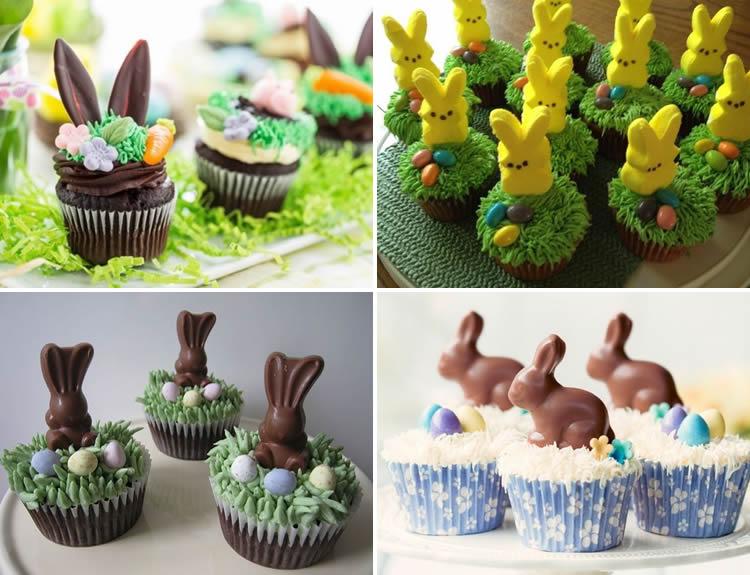 cupcakes de pasqua amb conills