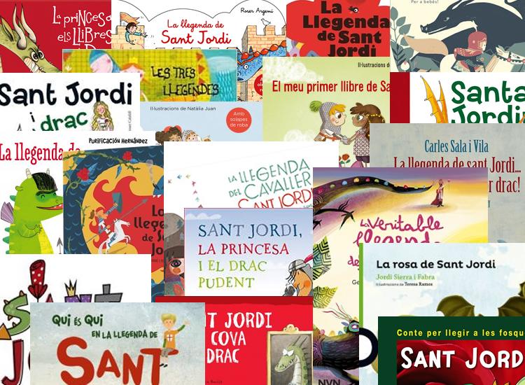 Contes llegenda de Sant Jordi per a nens