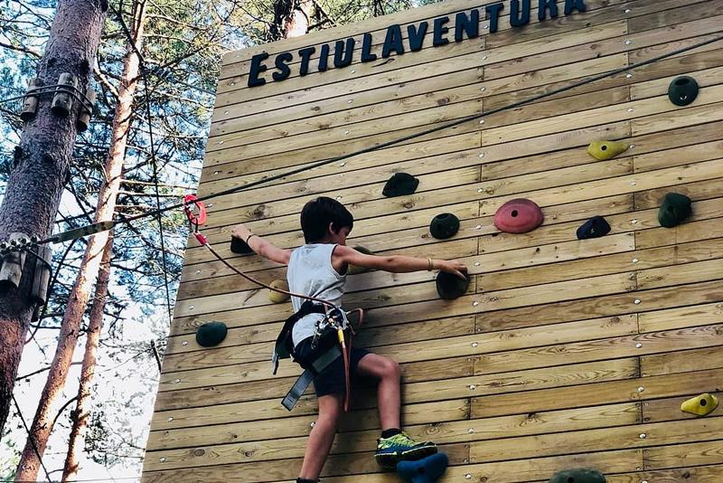 Estiula Aventura, parc d'aventura als arbres