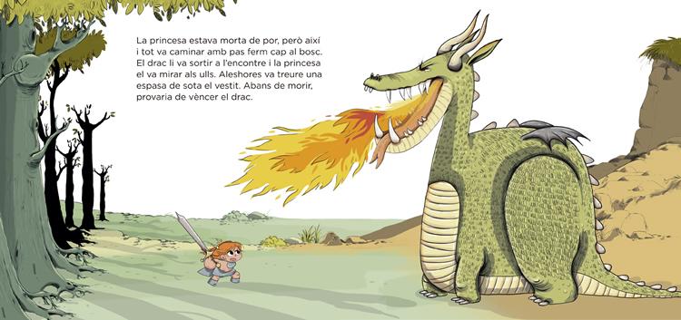 La princesa, els llibres i el drac - La Galera