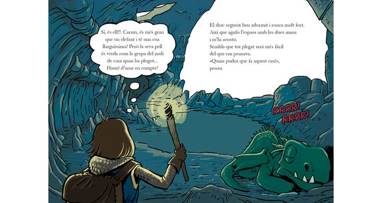 Sant Jordi i el drac devorallibres – Edicions el pirata