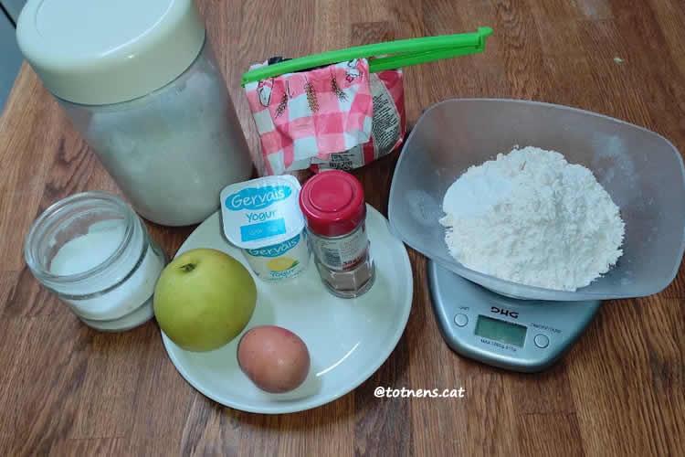 ingredients bunyols