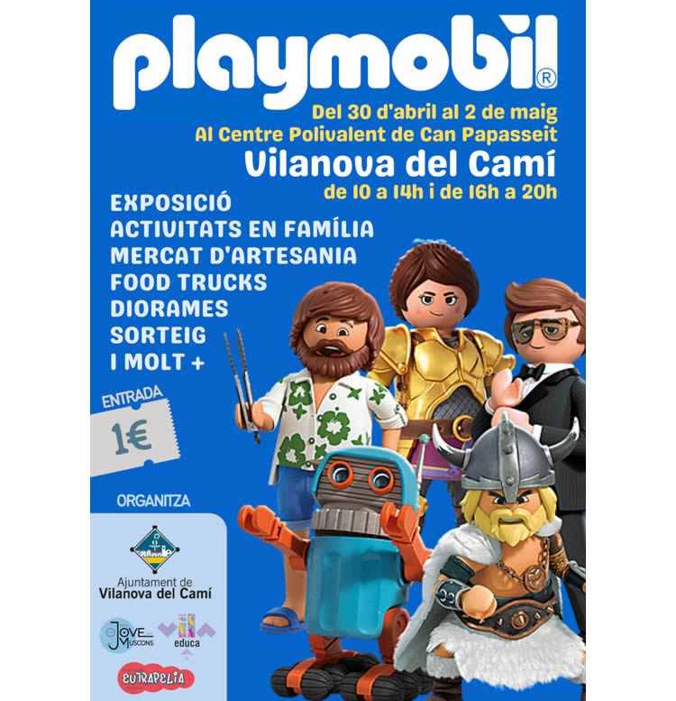 Fira playmobil Vilanova del Camí 2021