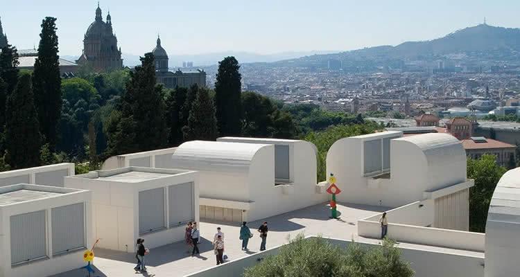 Fundació Joan Miró terrat