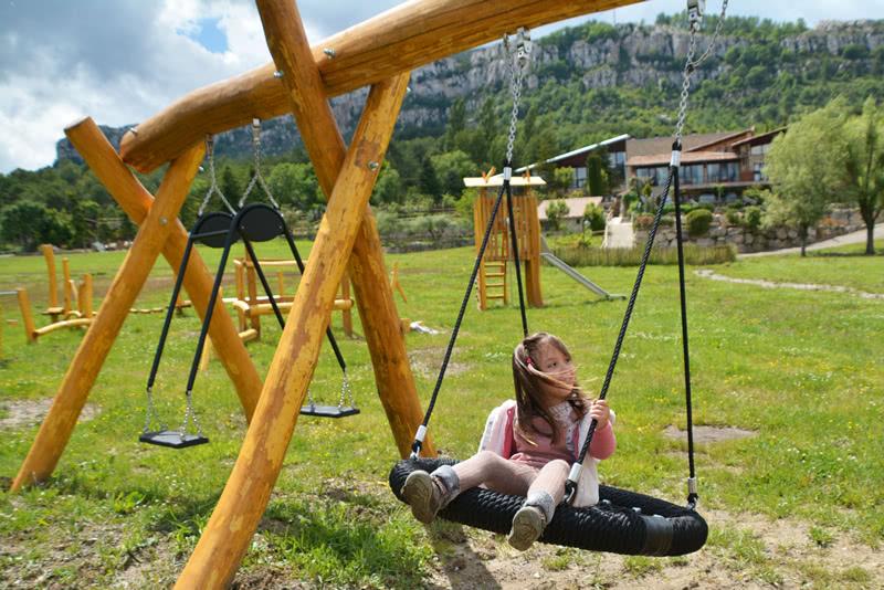 Hotel Family Friendly El Jou Nature zona infantil