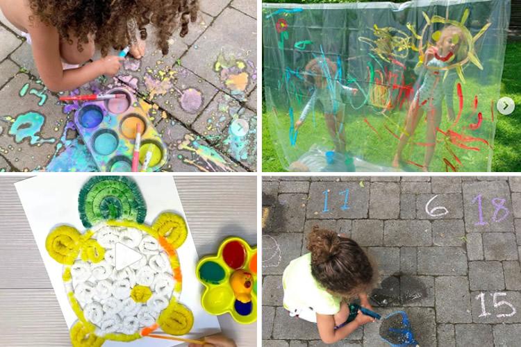 Idees per pintar a l'estiu