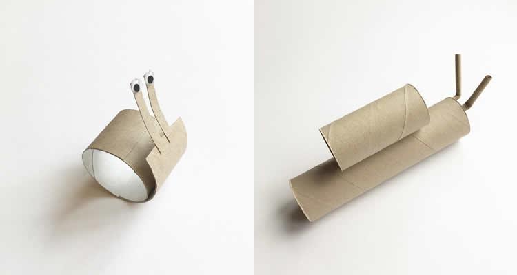 Lucy Monkman i els tubs de cartró