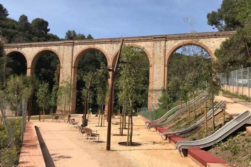 Parc de l'Aqüeducte a Ciutat Meridiana