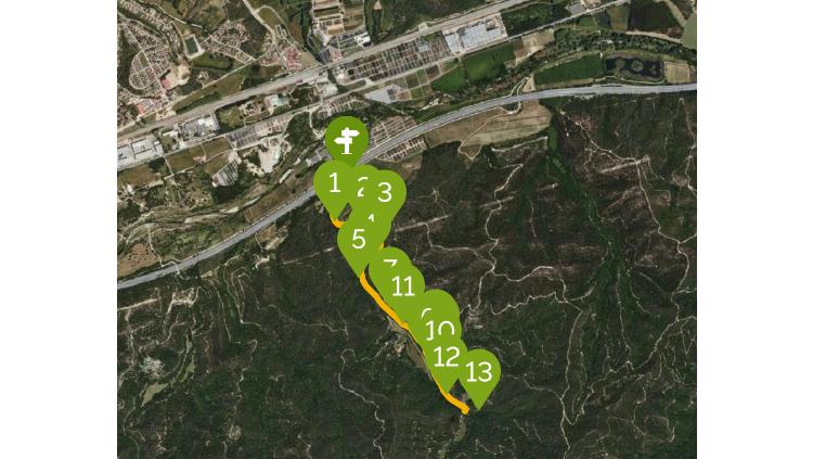 itinerari mediambiental vall de Fuirosos